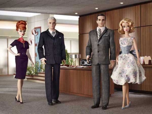 &lt;em&gt;Mad Men&lt;/em&gt; Barbies to Hit Stores in July