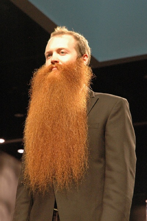 Uber-Beardo Jack Passion Talks National Beard and Moustache Championship