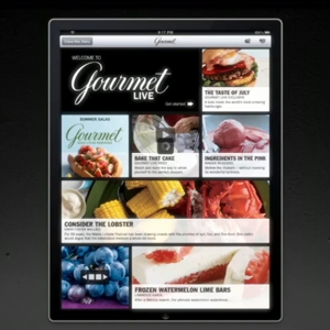 <i>Gourmet Magazine</i> Returns as an iPad App