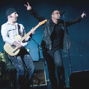 Watch Some People Outside U2's Italy Rehearsal Space Listen to the Band Play a New Song