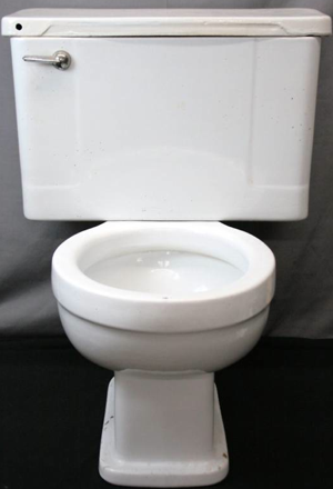 Buy J.D. Salinger's Toilet on eBay for $1 Million