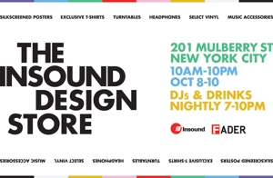 Insound to Open NYC Design Store for Three Days