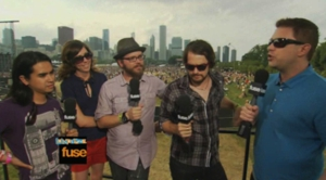 Silversun Pickups Interview at Lollapalooza 2009