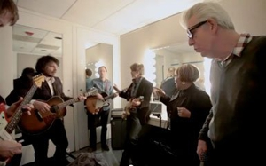Wilco Jams with Mavis Staples and Nick Lowe