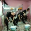 Three Guys Paint a Room by Headbanging
