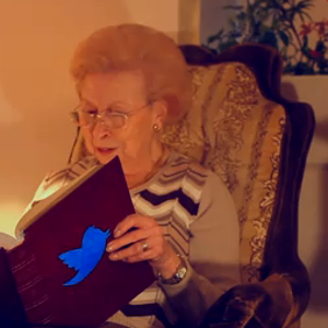 Grandma Reads Tweets From Kanye West, 50 Cent
