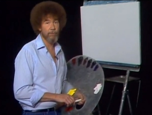 PBS Painter Bob Ross' Moving Remix Tribute
