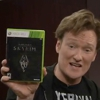 Watch Conan Shout At Chickens in His <i>Skyrim</i> Review