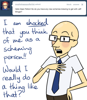 Ask <i>Community</i>'s Dean Pelton Anything You Want