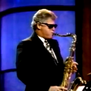 Bill Clinton Jamming to M83's &quot;Midnight City&quot;