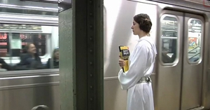 Awesome of the Day: Improv Everywhere's Subway <em>Star Wars</em> Stunt