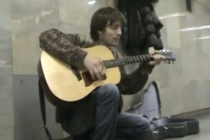 This Russian Subway Performer Sounds Just Like Kurt Cobain