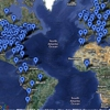 Google Map of Every Location Mentioned By The Mountain Goats
