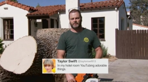 "Watch <i>Parks & Recreation</i>'s Nick Offerman Read Tweets from ""Young Female Celebrities"""