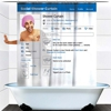 The Social Media Shower Curtain