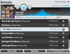 Pearl Jam's <i>Backspacer</i> Streaming at MySpace (Awesome of the Day)