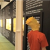 Awesome of the Day: Bart Simpson's Blackboard Lines on One Wall