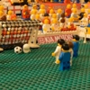 USA vs. England World Cup Game Recreated with Legos