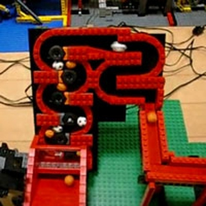 Insanely Complex Lego Device