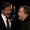 Watch Meatloaf and Jimmy Fallon Sing About Bagel Bites