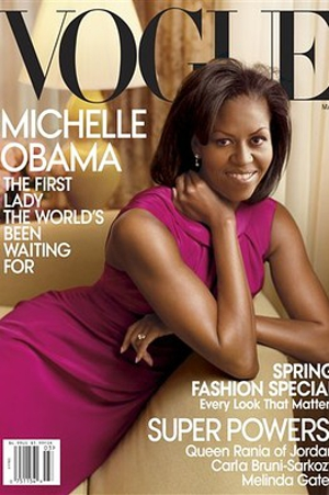 Michelle Obama's a cover girl