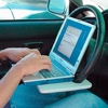 The Laptop Steering Wheel Desk (Awesome of the Day)