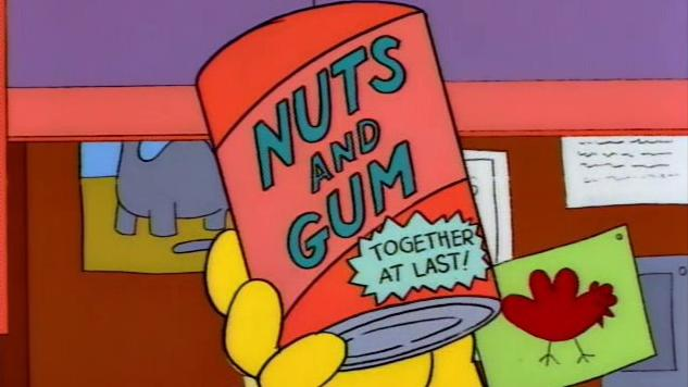 Cooking <i>The Simpsons</i>: Nuts and Gum