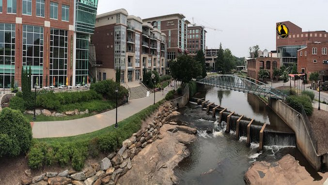 Cycling Around Greenville, South Carolina
