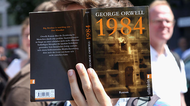 George Orwell's Dystopian Classic <i>1984</i> Tops Amazon's Bestseller List Again