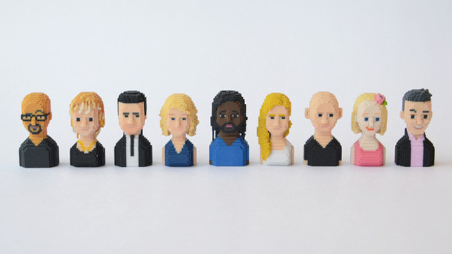 Support Syrian Refugees, Get a 3D Printed Author from Riverhead Books
