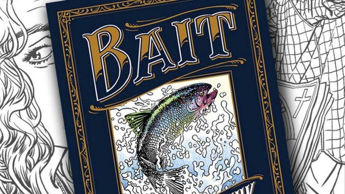 Chuck Palahniuk Talks <i>Bait</i>, His Short Story/Coloring Book Hybrid Rated NC-17