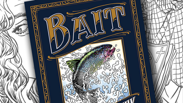 Chuck Palahniuk Talks <i>Bait</i>, His Short Story/Coloring Book Hybrid Rated NC-17