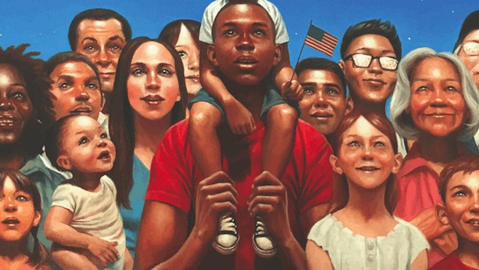 Check Out Kadir Nelson's Gorgeous Illustrations from <i>Blue Sky White Stars</i>
