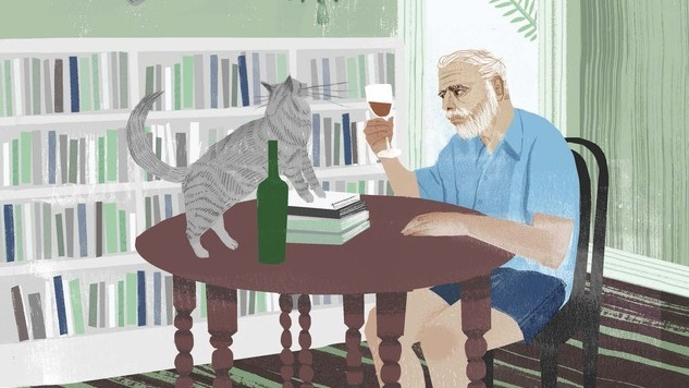 Sam Kalda Illustrates 30 Feline-Loving Icons in His Book, <i>Of Men and Cats</i>