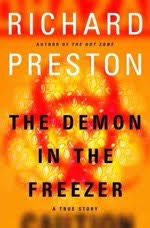 an analysis of the demon in the freezer by richard preston Read free book excerpt from the demon in the freezer by richard preston, page 1 of 3.