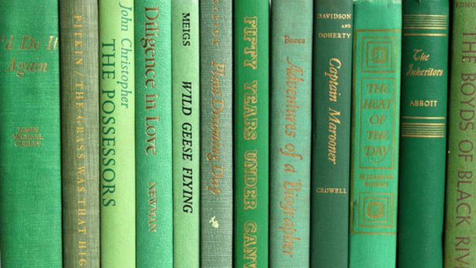 """Five Great Books with """"Green"""" in the Title"""