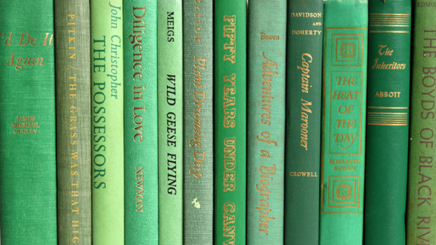 "Five Great Books with ""Green"" in the Title"