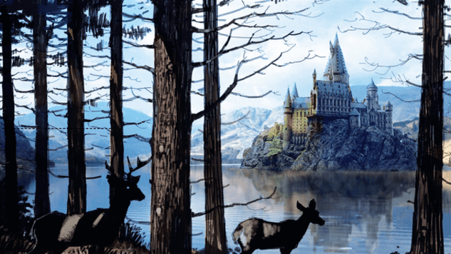 Check Out These Magical Illustrations from <i>The Art of Harry Potter</i>