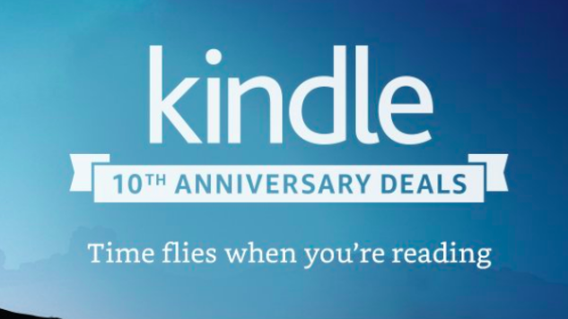 The Best Kindle 10th Anniversary Deals from Amazon