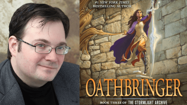 Brandon Sanderson Talks <i>Oathbringer</i>, the Thrilling Third Book in His Stormlight Archive Series