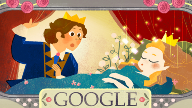 Fairy Tale Google Doodles Celebrate Charles Perrault's Birthday