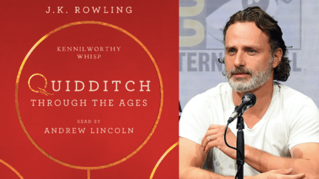 Andrew Lincoln to narrate new Harry Potter audiobook