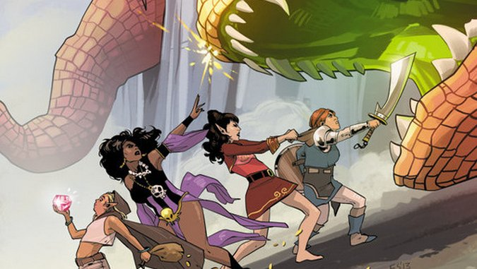 <i>Rat Queens, Vol. 1: Sass and Sorcery</i> Review