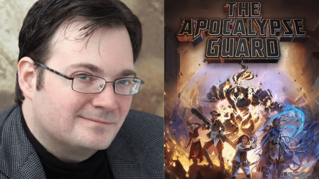 Exclusive: Brandon Sanderson Pulls <i>The Apocalypse Guard</i> Release, Gives Update About Mystery Project