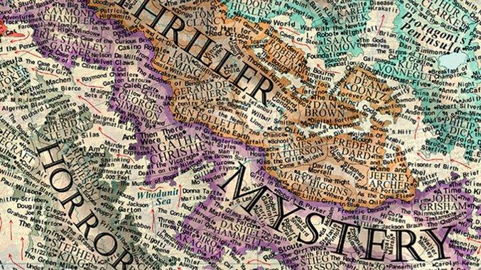 Martin Vargic's Gorgeous Map of Literature