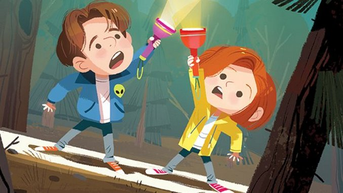 Young Mulder and Scully Star in an Adorable <i>The X-Files</i> Picture Book