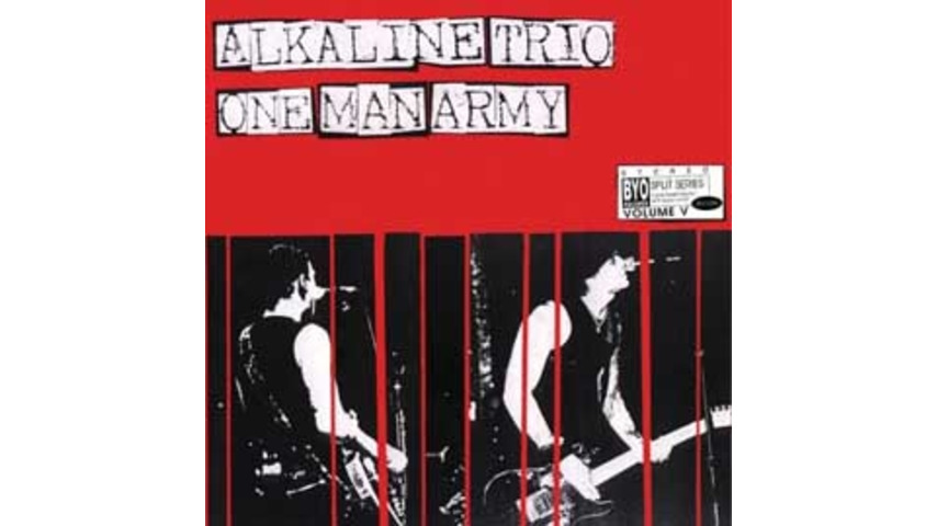 Alkaline Trio/One Man Army - BYO Split Series Vol. 5