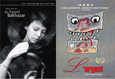 Au Hasard Balthazar/L'Argent (DVD)