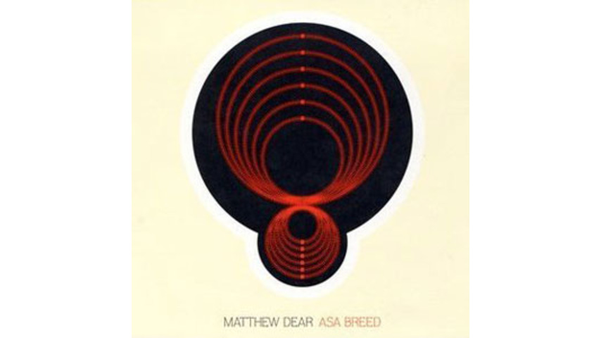 Matthew Dear: Asa Breed