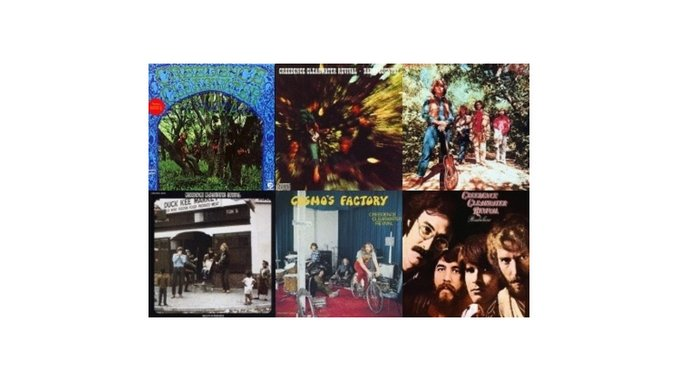 Creedence Clearwater Revival: 40th Anniversary Edition Reissues
